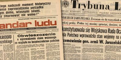 13 grudnia 1981. Niedziela bez Teleranka.
